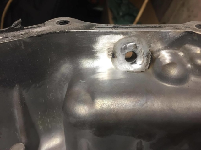 Sump, Oil, AN Fitting, Aluminium, Welding, TIG, GTAW