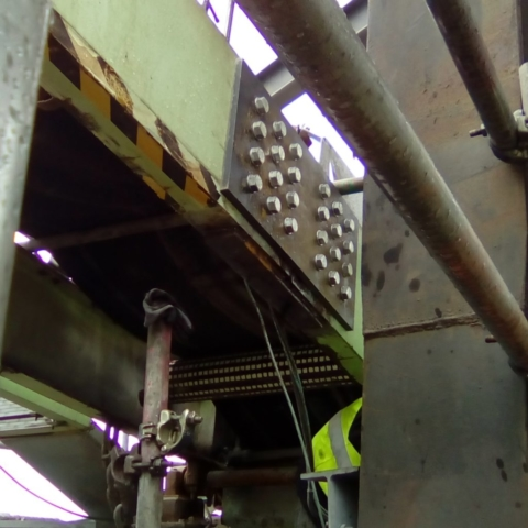 Crack Repair Conveyor Steel Welding