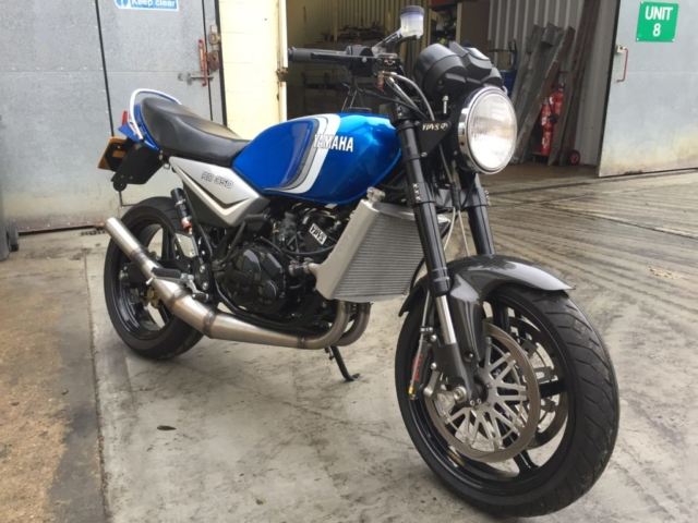 RD350LC, Yamaha, Exhaust, Allspeed, Gibson