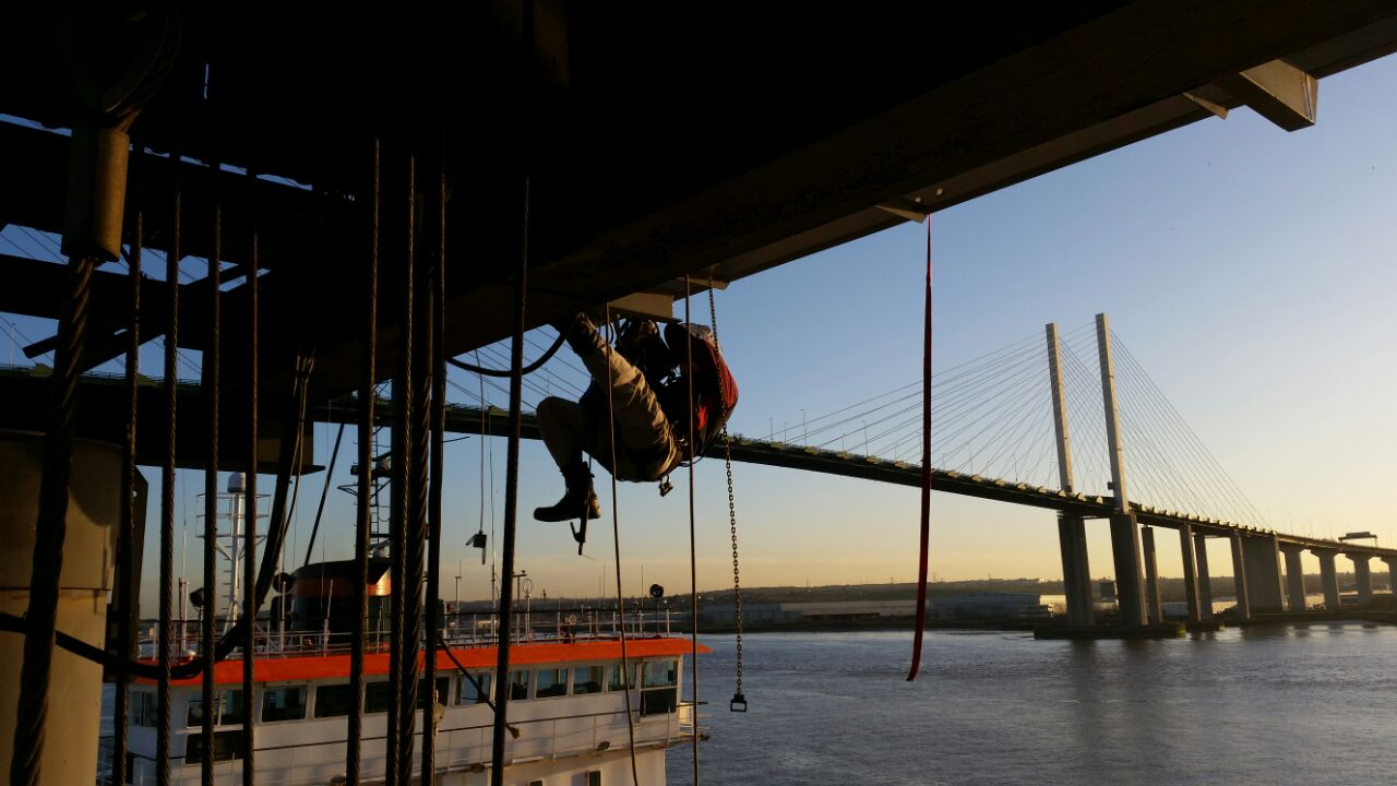 Rope Access Welding & Cutting