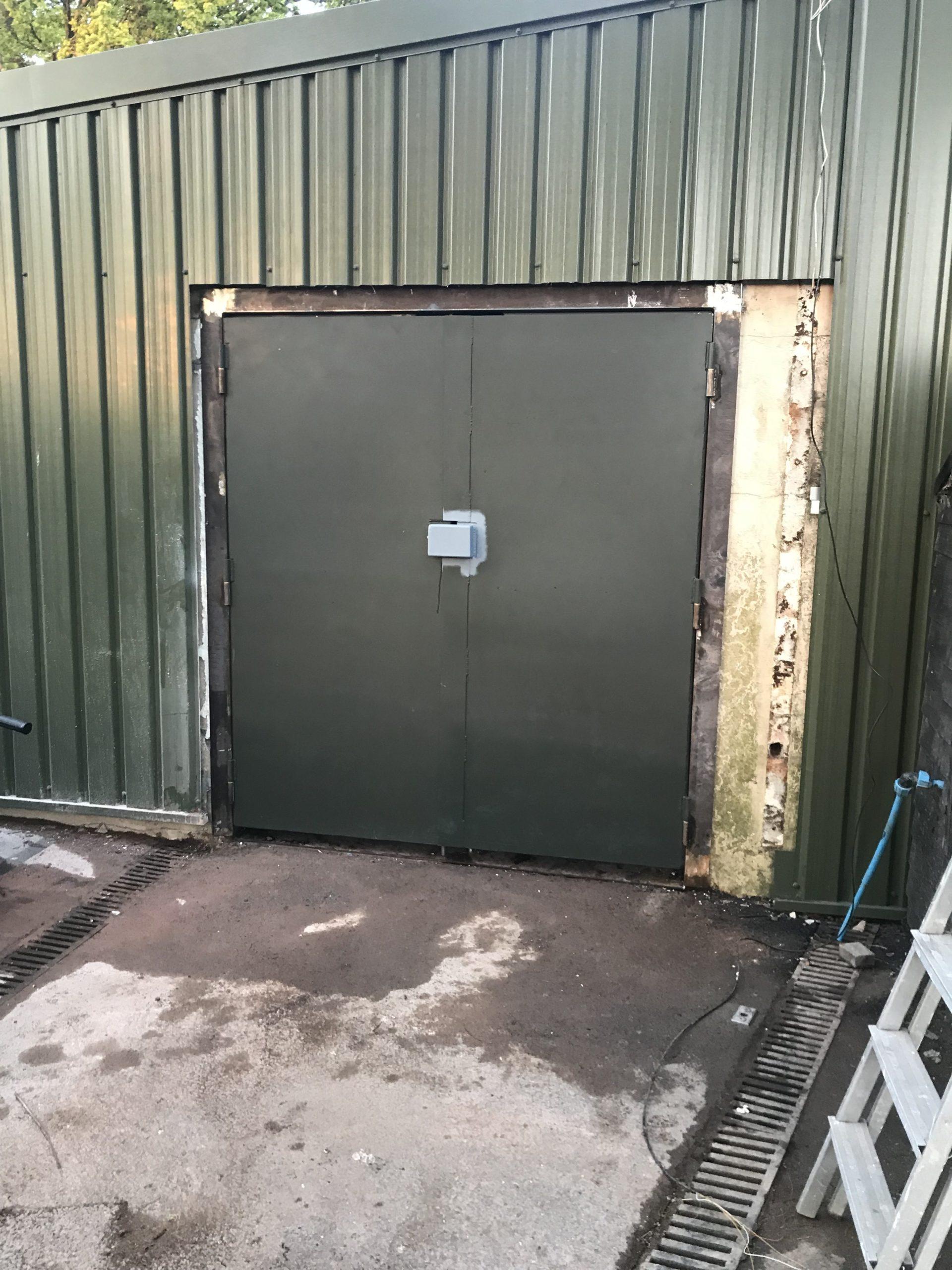 Heavy Duty, Security Door, Steel Door, Metalwork, Engineering