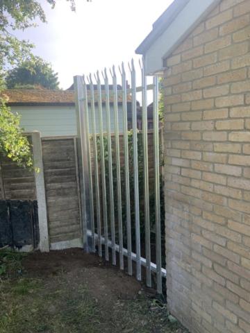 Galvanised, Railing, Palisade, Fencing, Panel, Instal, Fabricate, Metalwork, Welding, Security, Essex
