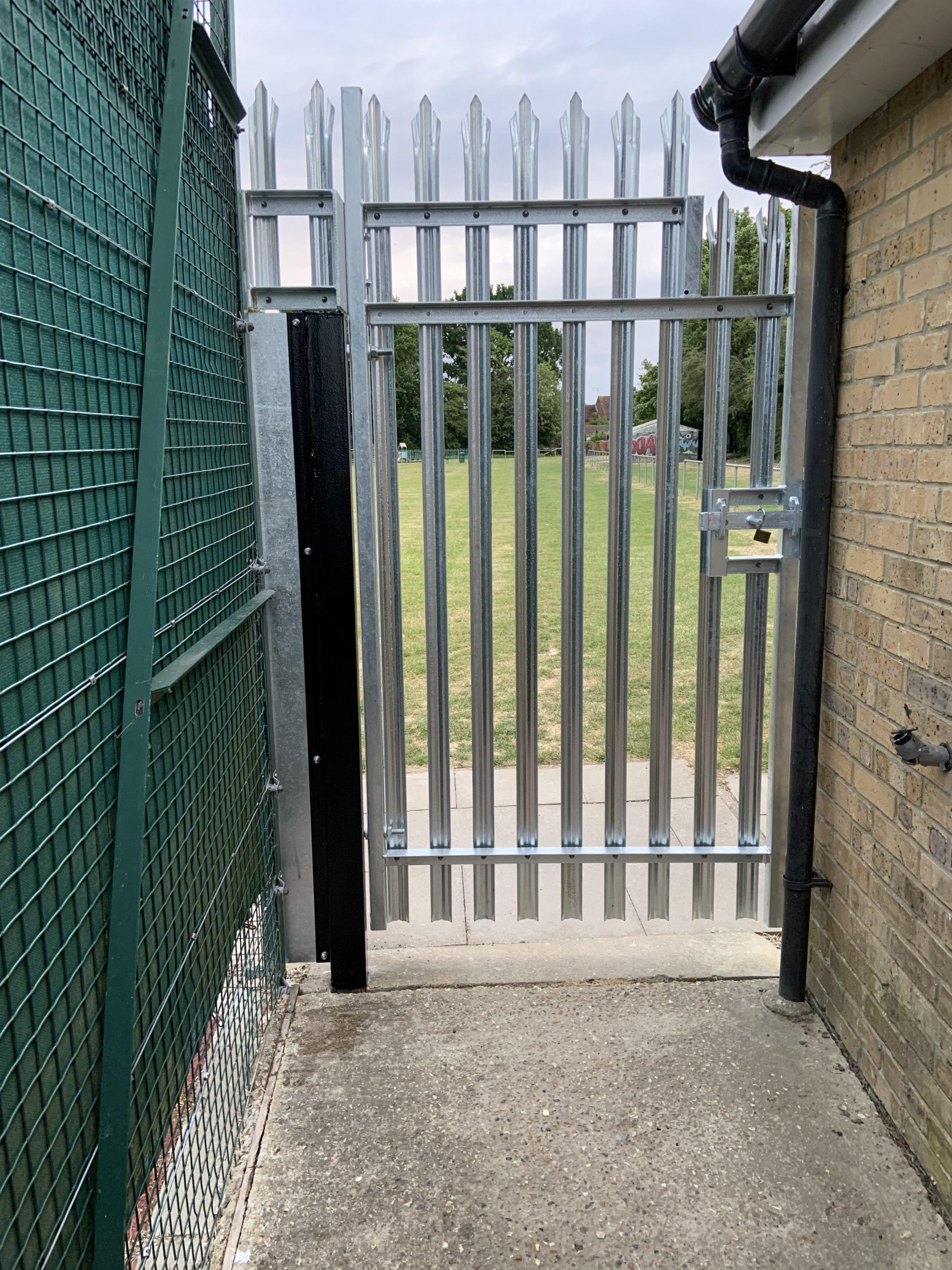Bespoke, Custom, Palisade, Fencing, Gate, Install, Metalwork, Essex, Security.