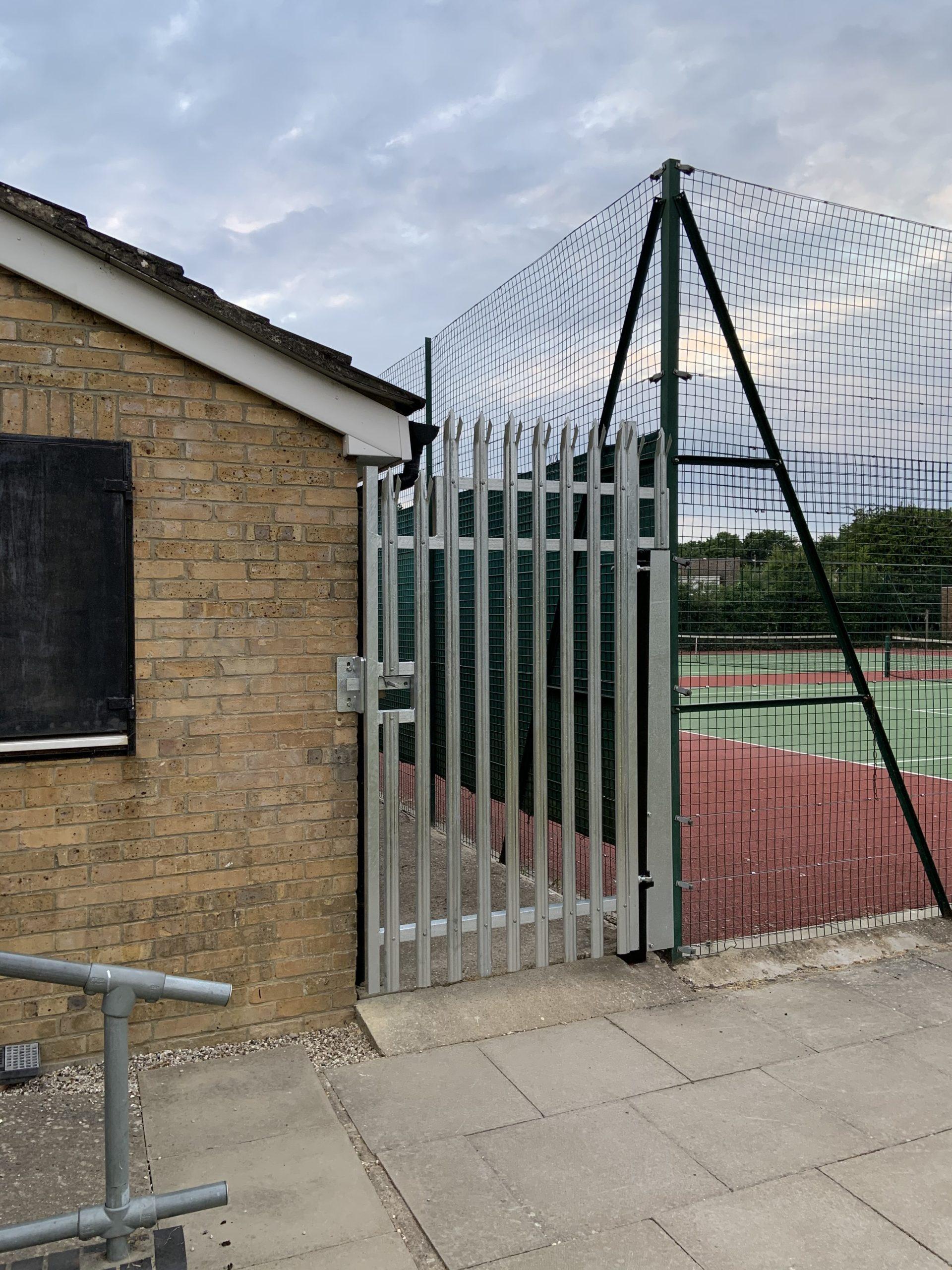 Bespoke, Custom, Palisade, Gate, Palisade Gate, Welding, Fabrication, Galvanised, Security, Essex.