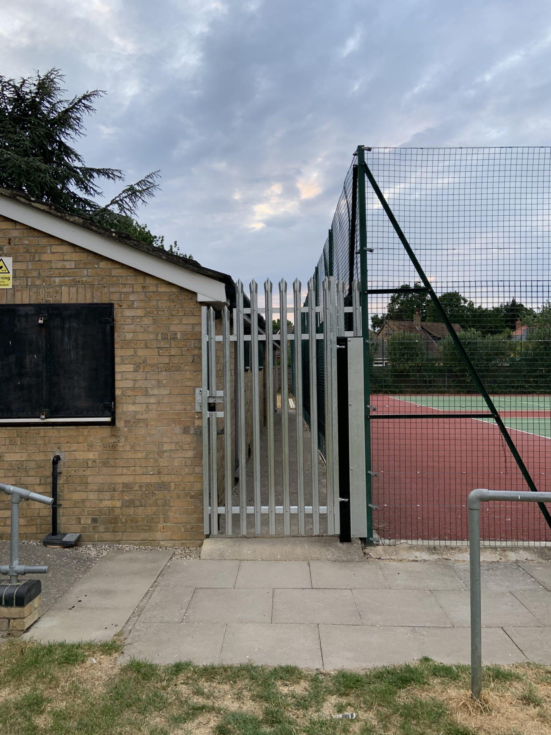 Palisade, Gate, Galvanised, Fabricated, Fabrication, Metalwork, Steel, Welding, Security, Essex.