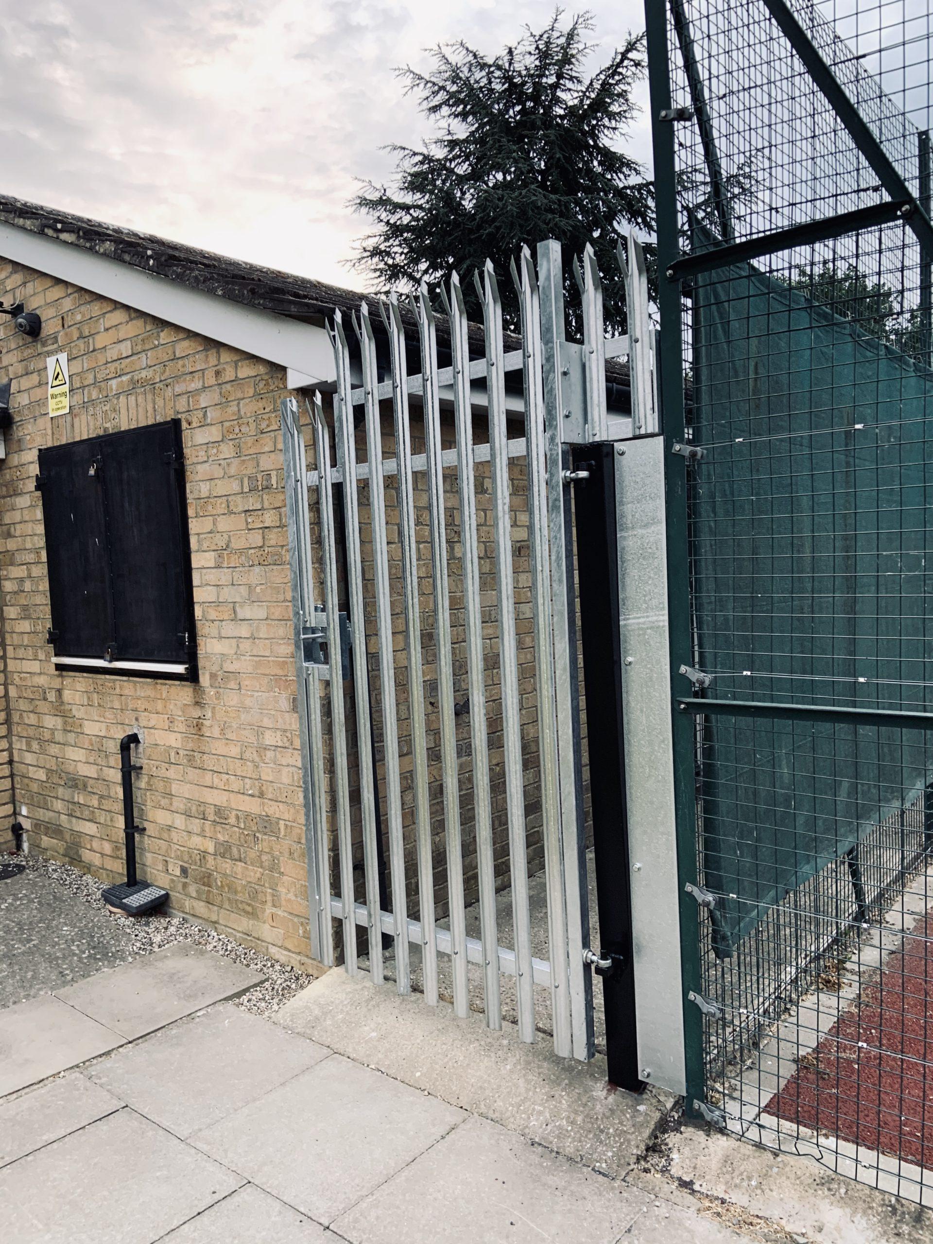 Palisade, Fencing, Gate, Security, Galvanising, Essex, Welding, Fabrication