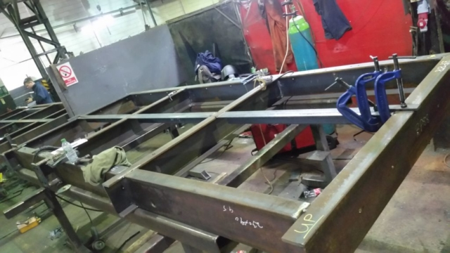Cantilever Balcony Fabrication, Structural Steelwork