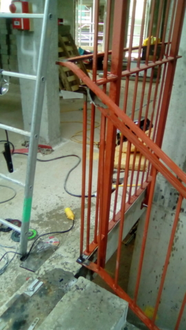 London, Welding, Handrail, Onsite Welding