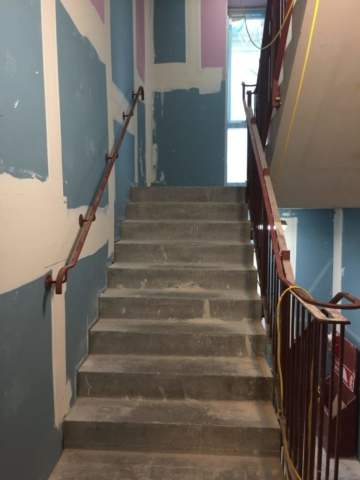 Ardmore Construction, Welding, London, Handrails