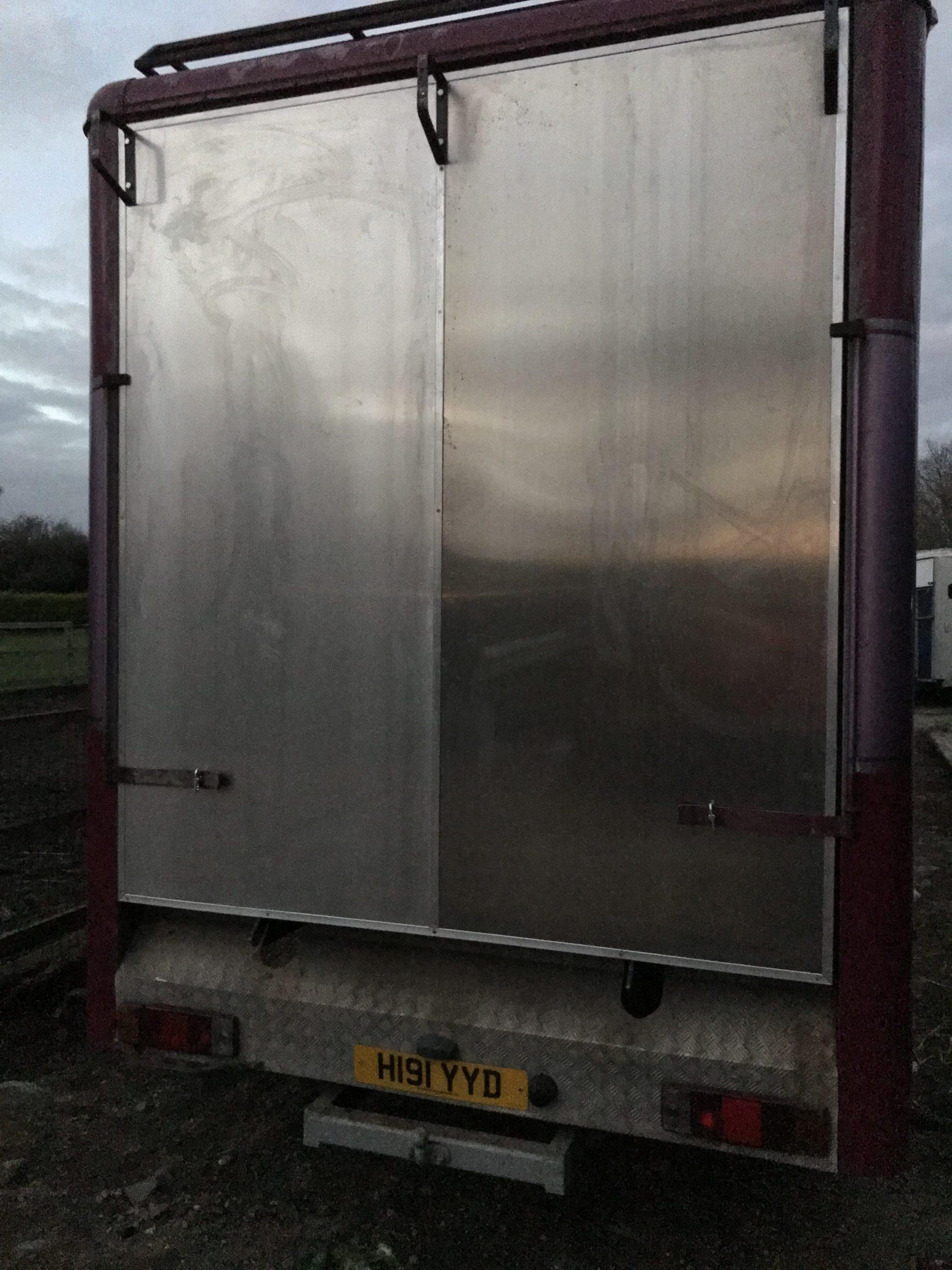 Horsebox, Repair, Rotten, Replacement, Tailgate, Loading, Ramp.