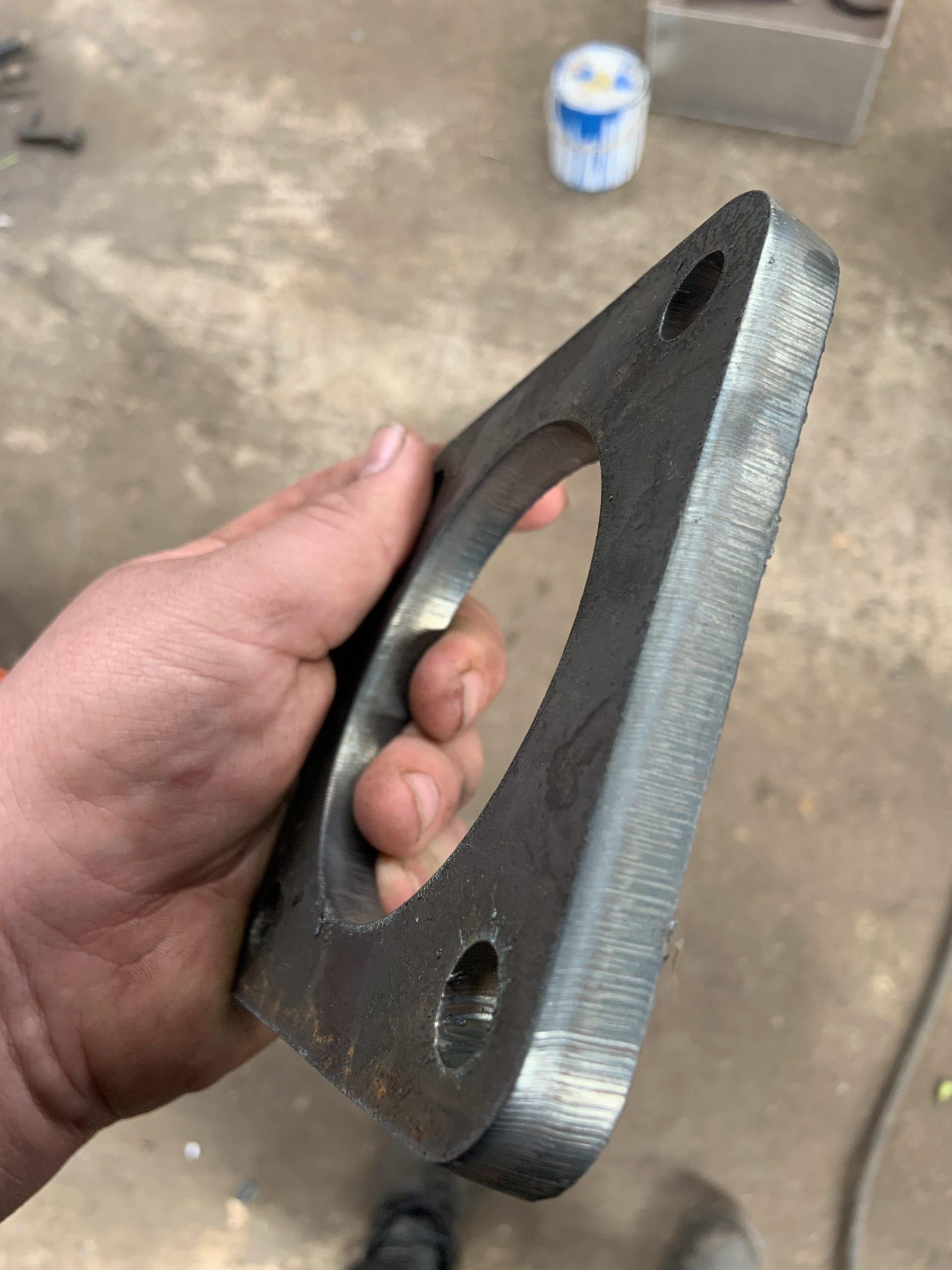 Swift-Cut, CNC Plasma Cutting, Steel Plate, Exhaust Flange, Hypertherm